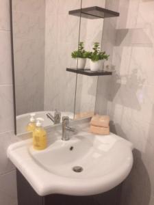 A bathroom at loft At Besset
