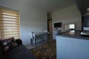 A kitchen or kitchenette at Demre Apart