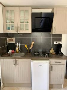 A kitchen or kitchenette at Appartement de la Duchesse de Dino