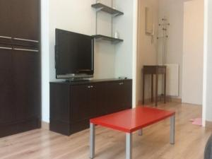 A television and/or entertainment center at Apartment Pavillon