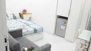 Ein Bett oder Betten in einem Zimmer der Unterkunft Smiley Apartment 9