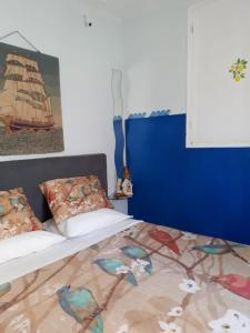 A bed or beds in a room at Stefania houses