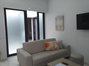 A seating area at Apartamentos Rivero 8