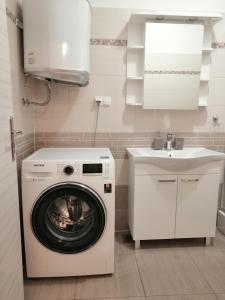A bathroom at Apartments M&B