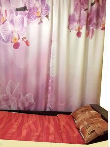 Кровать или кровати в номере Квартира в центре на Фокина 65