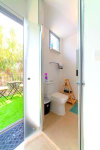A bathroom at ☀Dawn & Sun☀ Boutique Studio in TLV + Balcony