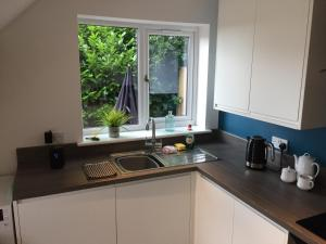 A kitchen or kitchenette at The Guest House