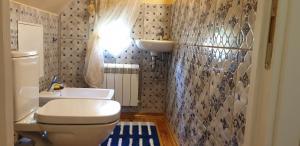 A bathroom at Villa Florio