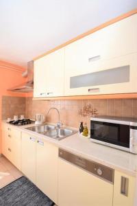 Küche/Küchenzeile in der Unterkunft Apartment Vita