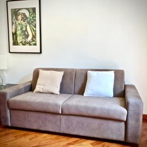 A seating area at Apartment Solferino 37