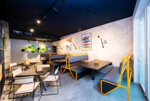 Ein Restaurant oder anderes Speiselokal in der Unterkunft Staycity Aparthotels Venice Mestre