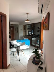 Piscina en o cerca de Apartamento Para 5 em Jurerê Florianópolis