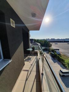 A balcony or terrace at Airport Residence