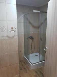 A bathroom at Vilotic group,Apartman 2