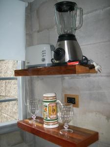 Una cocina o kitchenette en Gorriones Libres