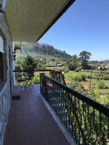 Balkon lub taras w obiekcie Fataunços Holiday House