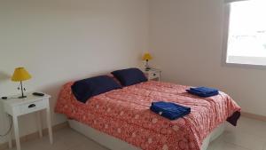 Una cama o camas en una habitación de Leloir Apartments Neuquen !