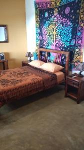 Cama o camas de una habitación en Plateritos
