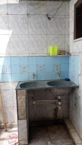A bathroom at Casa da Praia do Caolho