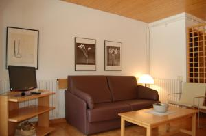 Zona de estar de Apartaments Vall Ferrera