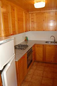 Una cocina o zona de cocina en Apartaments Vall Ferrera