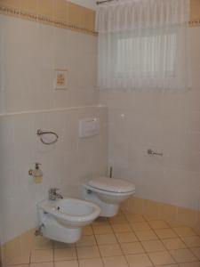 Kúpeľňa v ubytovaní Ferienwohnung Da Rugna
