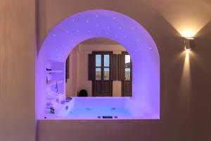 A bathroom at BlackStone Luxury Suites
