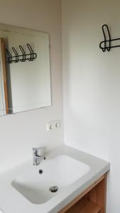 A bathroom at Chalet - Camping 't Dekske