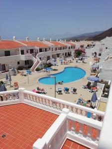 A view of the pool at Los Cristianos Port Royale or nearby