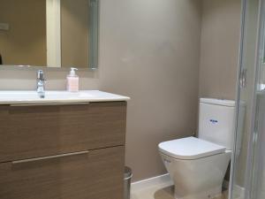 A bathroom at La Casa Tahona Plaza de Cervantes