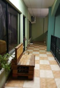 A balcony or terrace at Ecogreen Aparthotel