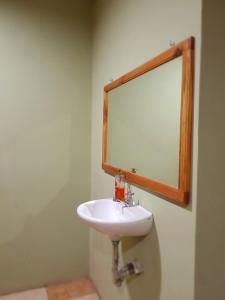 A bathroom at Ecogreen Aparthotel