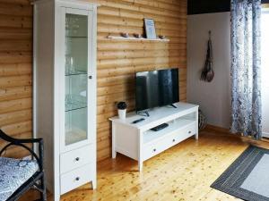 En tv och/eller ett underhållningssystem på Holiday home VARBERG III