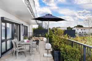 A balcony or terrace at MLOFT Apartments München