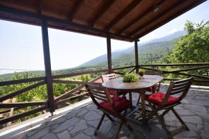 A balcony or terrace at 2 Bedroom Chalet on Olympus Amazing View