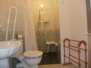 Salle de bains dans l'établissement Achill Cottages