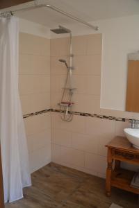 Koupelna v ubytování Im Maifeld