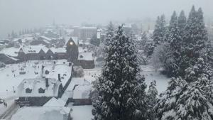 Aires de Bariloche durante el invierno