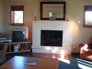 A television and/or entertainment center at Whitestone Cottages