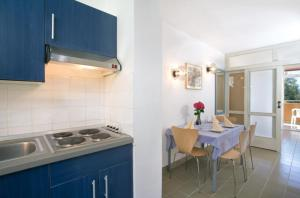 A kitchen or kitchenette at Lanterna Sunny Resort by Valamar