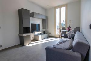 A television and/or entertainment center at MAISON MICHELONI