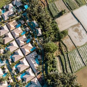 A bird's-eye view of FuramaXclusive Resort & Villas, Ubud