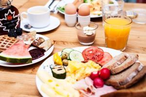 Frühstücksoptionen für Gäste der Unterkunft Apart Neptun
