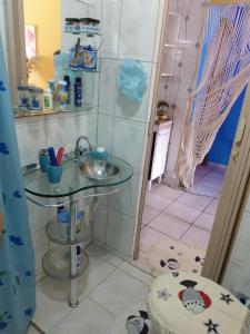 A bathroom at Joelma temporada