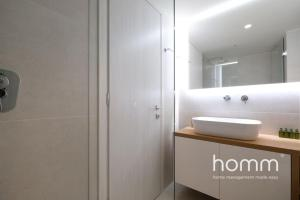 A bathroom at Breathtaking homm Penthouse with Magical Sea Views
