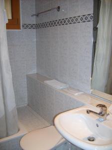 Salle de bains dans l'établissement Résidence Castel Club Leysin Parc