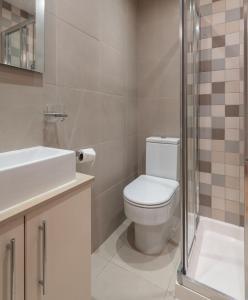 Ein Badezimmer in der Unterkunft Luxury Marylebone Apartment, Baker Street