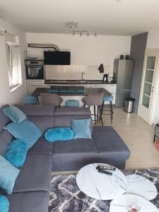 A seating area at Lux & Relax Apartments Trogir