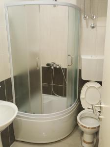A bathroom at Apartman 1 ,Avalska 15 Gaj