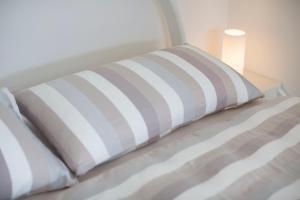 Ein Bett oder Betten in einem Zimmer der Unterkunft Chalet Bergoase